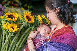 Artisanal Baby Wrap 100% Cotton From Oaxaca mexico