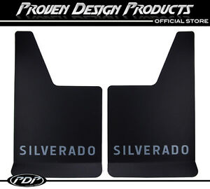 Chevrolet Silverado, 2500 HD Mud Flaps, Guards, Chevy MUDFLAPS Silverado_GRAY