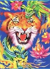 Tatto Tiger Plush Blanket Signature Collection queen size Acrylic Heavy throw
