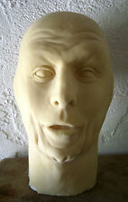"RAY BOLGER Latex Head from MOVIELAND WAX MUSEUM MOLD! ""SCARECROW"" by Pat Newman!"