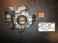 94 95 96 97 98 HONDA ACCORD THROTTLE BODY AND SENSORS MATCH PICTURES (2260)