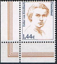 2297 **, BRD 2002, Esther von Kirchbach, ELU
