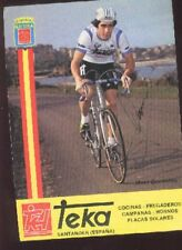 MARC GOOSSENS cyclisme Signée TEKA Santander autographe cycling ciclismo team