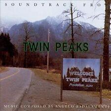 Twin Peaks [Original Television Soundtrack] by Angelo Badalamenti (CD, Sep-1990,