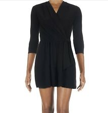 Tiana B. Three Quarter Sleeve Black  Romper L NWT