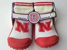 The Original Skidders, Nebraska Cornhuskers, Skid-Proof Shoes, Size 8