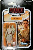 "JAKKU 3 3//4/"" REY Figure ~ Hasbro Star Wars Vintage Collection"