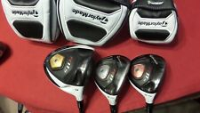 Taylormade R11S Wood Set 9* Driver 4-5 Woods RIP Phenom Reg Men Right Handed