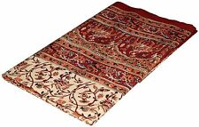 Bedspread King Size Floral Bedsheet Handblock Wall Hanging Tapestry INDIAN Decor