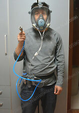 Gas Mask and complete Circulating air supply+Oil-water separator (Same 3M6800)