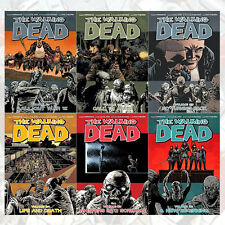 Walking Dead Vol 21-26 ( All Out War Part 2) 6 Book Collection By Robert Kirkman