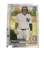 2020 Bowman Chrome Prospects I #BCP-8 Jasson Dominguez - New York Yankees