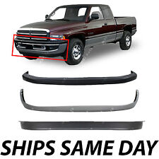 NEW Front Bumper Valance Pad Combo Kit For 1994-2001 Dodge Ram 1500 2500 3500