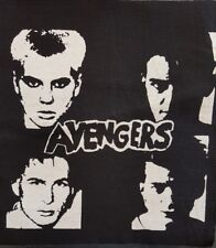 THE AVENGERS PUNK ROCK BLACK CANVAS BACK PATCH