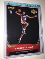 2016-2017 Panini Instant NBA BRANDON INGRAM ROOKIE RC 1 OF 492 RED LAKERS DUKE