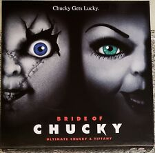 NECA BRIDE OF CHUCKY, ULTIMATE CHUCKY AND TIFFANY FIGURES, 2-PACK (NEW)
