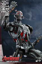 Hot Toys--Avengers 2: Age of Ultron - Ultron Prime 1:6 Scale Figure