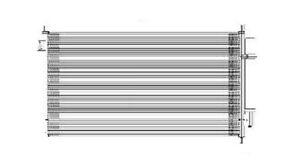 A/C Condenser  TYC  3669