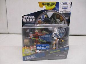 2011 Star Wars The Clone Wars Brain Invaders Ahsoka and Clone Trooper Scythe