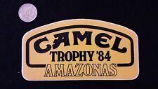 d96 Adesivo Sticker   CAMEL TROPHY '84   AMAZONAS    mint