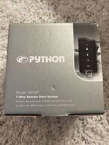 PYTHON 4606P 1 WAY REMOTE START 1/2 MILE RANGE WOW!