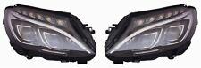 KIT 2X FARI FANALI ANTERIORI A LED Mercedes CLASSE C W205 2014-2018