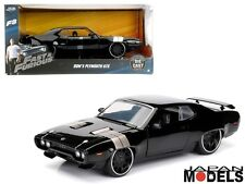 Fast & Furious 8 DOM'S PLYMOUTH GTX Die Cast 1/24 Jada Toys 98292 New Nuovo
