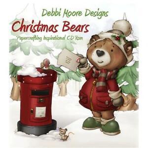 Debbi Moore Designs Christmas Bears Papercrafting CD Rom (676436)
