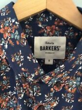 Barkers Men's floral long sleeved shirt size S