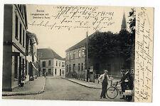 AK Berne Oldenburg Dencker´s Hotel Paketdienst Postbote Landkreis Wesermarsch