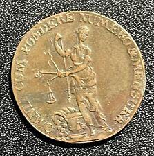 "Germany 1753-1790 Clausthal ""Consilio Et Fortuna"" Token: Johann Wilhelm Schlemm"