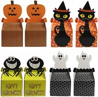 KATOOM 24pcs Halloween Candy Boxes,Trick or Treat Box Sweets Chocolate Gift Favo