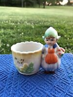 Vintage Hershey Park Dutch Girl Souvenir Planter