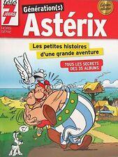 GENERATION(s) ASTERIX / Édition Collector Télé 7 Jours : Secrets des 35 albums