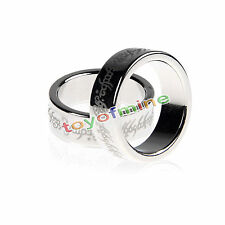 18/20mm Silver Magnetic Ring PK Effects and Magic Tricks Magnet Rings