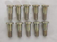 "10 x Aircraft Hi-Lock Pins, 1/4"""" UNF, Grip Length: 3/8"", HL764-8-6 [GR3A-7]"
