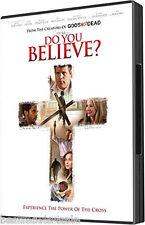 Do You Believe ? DVD NEW 1 Disc SHIPS 8/4/15 Creators Of Gods Not Dead