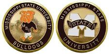 """Mississippi State University """"Bulldogs"""" Collectible Challenge Coin"""