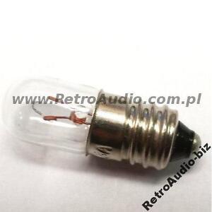 Miniature Lamp Light Bulb 8V 300mA 0,3A 2,4W  - RetroAudio