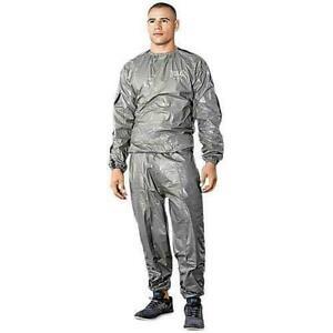 Everlast Men's Sauna Suit Gray Size: Large / XL