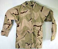 Three Color Desert Military Style ECWCS Foul Weather Parka, Waterproof Med. Long