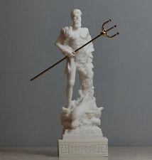 Poseidon Greek God of the Sea Neptune Statue Sculpture Figurine Handmade 6.5΄΄