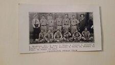 Groesbeeck Texas & Carrollton Mississippi 1906 Baseball Team Picture SP VERYRARE
