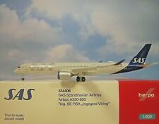 Herpa Wings 1:500 Airbus A350-900 SAS Airlines Se-Rsa 534406 Modellairport500
