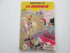 LUCKY LUKE T24 1970 USAGE/BE LA CARAVANE PUBLICITAIRE BROCHE TOTAL