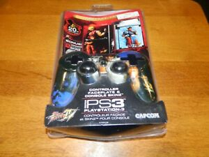 Mad Catz Street Fighter IV Controller Faceplate and Console Skinz for PS3 NEW