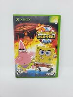 The Spongebob Squarepants Movie Microsoft Xbox Complete Manual Tested Works
