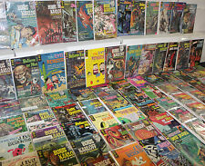 VINTAGE GOLD KEY MID GRADE SILVER BRONZE HORROR COMIC LOT 86pc (5.0-7.5)