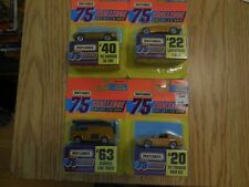 4  1997 matchbox 75 challenge cars - lamborghini-diablo-snorkel fire truck-