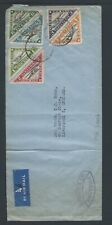 Liberia 1936 First Airmail Service Cover to UK 22. 1. 38